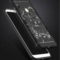 Case Xiaomi Redmi Note 5 Pro Softcase Cocose - Black Dragon - Hitam