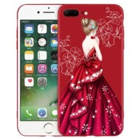 Fashion Gaun Case Redmi 5 5a mi 5x A1 6X Note 3 4X 5 pro IPHONE 678 X