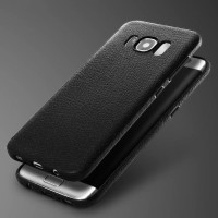Faux Leather Ultra Thin Matte Soft Back Case Cover Samsung S8 S8 plus