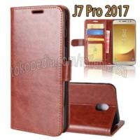 Flip Cover Samsung J7 Pro 2017 Leather case