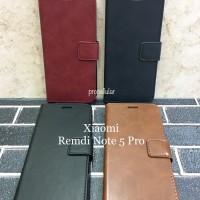 Flip Wallet Cover Xiaomi Redmi Note 5 Pro / Mi 6X Casing Leather Case