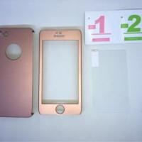 Iphone 5 / 5s/ SE Rose gold 360 full protection Neo Hybrid case