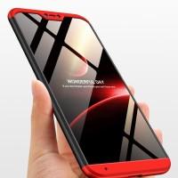 ORIGINAL GKK Xiaomi Mi A2 Lite Case 360 Free Tempered Glass - Hitam