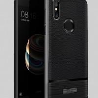 Xiaomi Redmi Note 5 Pro Case Lichee Rugged Armor - Hitam