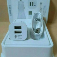 Car Charger / Mobil Samsung S7 Fast Charging 2A 2 Output Original 100%