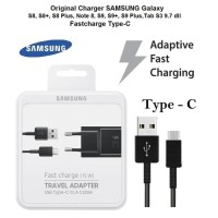 FAST CHARGER SAMSUNG S9 Note8 A8 A5 2018 KABEL USB C TAB S3 ORIGINAL