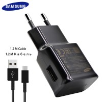 Fast Charging Samsung S8 S8 plus note 8 Charger Ori Type-C Adaptive