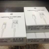 KABEL USB DATA CHARGER LIGHTNING 2M ORIGINAL APPLE IPHONE 5 6 7 2METER