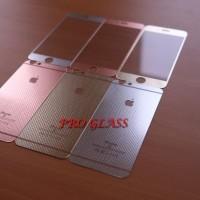 IPHONE 6 Plus / 6s Plus Anti Fingerprint Premium Design Tempered Glass