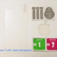 Iphone 7 / 8 / 7 PLUS BACK TEMPERED GLASS Premium Magic Glass