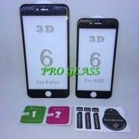 Iphone 6 Plus / 6s Plus 3D CARBON Full Cover Premium Tempered Glass