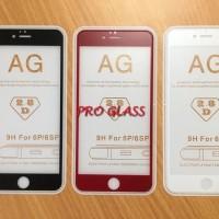Iphone 6 PLUS /6s FULL COVER ANTI GLARE / DOFF Premium Tempered Glass