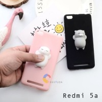 Squishy Case Mate Redmi 5a 5inch Soft Cover Fashion - Hitam