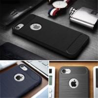 IxxCSx TPU brush carbon fiber Case cover Iphone 5 5s SE 6 6s 7 7 plus