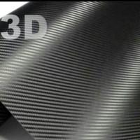 Carbon 3d sticker karbon 3d hitam