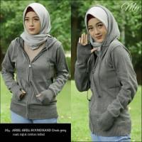Sweater Rajut Ariel Gril Roundhand - Dark Grey