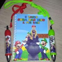 Custom Notebook Spiral Ukuran A5 - Isi Garis (80 halaman)