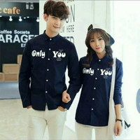 Couple Kemeja Only You