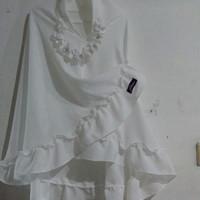 Jilbab Anak warna Putih Almeera Jeehana Pet Antem Size Jumbo