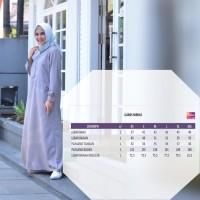 Baju Muslim Gamis Syari Pesta Busui Foyobo Polos Ori Nibras Nbc 04