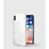 Vokamo iPhone XS X Case Sdouble Double Side Scratch-resistant - Clear