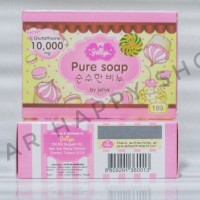 [BPOM] Jellys Pure Soap by Jellys Original Thailand 100% / Sabun Mandi