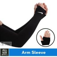 ARM SLEEVE NIKE/ MANSET TANGAN SEPEDA FUTSAL SEPAK BOLA SEPEDA RUNNING