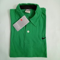 Size M !!! Kaos kerah nike hijau / polo shirt
