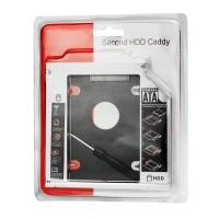 HDD/Harddisk Second Caddy Slim Hardisk Case 12.7mm SSD Sata For Laptop