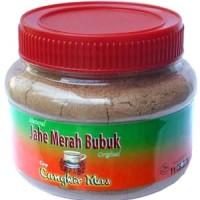 Jahe Merah Bubuk Murni Cap Cangkir Mas Toples - 100% Alami Tanpa Gula