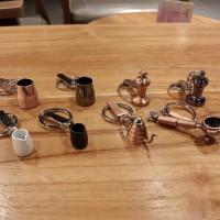 Key Ring Gantungan Kunci Mokapot / Milk Jug Coffee Tools Miniatur