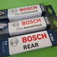 Paket Wiper Frameless Depan Belakang 24/18/H354 NISSAN LIVINA BOSCH