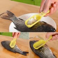 Alat Pembersih Sisik Ikan Dengan Pembuangan Praktis dan Simple