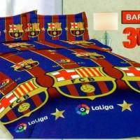 Sprei Bonita Single Size 120 x 200 Motif Madrid - Barcelona