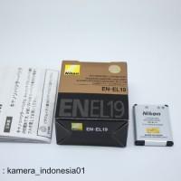 Baterai Nikon EN-EL19 Untuk Kamera Coolpix A300 W100 S6900 S33 S3700