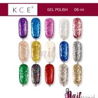 KCE Nail polish/KCE Gel Polish 6ml/glitter gel/kutek gel glitter nails