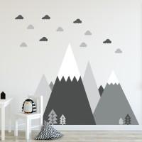 Wall Sticker Scandinavian 150 x 104 cm Hiasan Dinding Dekorasi Rumah