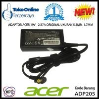 Adaptor Charger Laptop Acer Aspire One 19V-2.37A Original 5.5mm-1.7mm