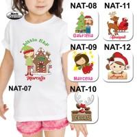 Baju / Kaos Anak Perempuan / Girl Tema Natal