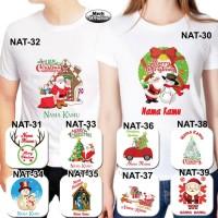 Baju / Kaos Dewasa Pria / Wanita / Unisex Tema Natal Umum