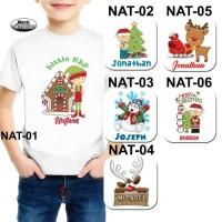 Baju / Kaos Anak Laki-laki / Boy Tema Natal