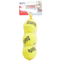 Mainan Anjing KONG AST2 Squeaker Air Tennis Ball Medium 3pcs