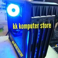 RAKITAN AMD RYZEN 5 2600 & GTX 1060 3GB & MB X370M-H PC CPU GAMING S38