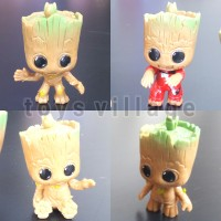 4pcs Mainan Action Figure Marvel Avengers Guardian of the Galaxy Groot