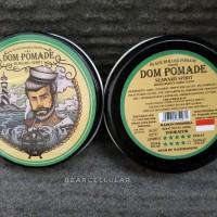 DOM POMADE SEAWARD SPIRIT BLACK DELUXE WATERBASED 3.5OZ FREE SISIR