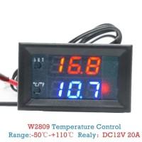 Regulator Thermostat W2809 - Pengatur Suhu Digital 12V 20A Adjustable