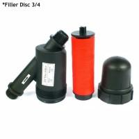 Disc Filter Fertigasi Penyaring Air Fertigasi Hidroponik 3/4 Dim