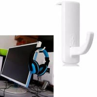 Gantungan Hanger Gaming Holder Headphone / Stand Headphone - Putih