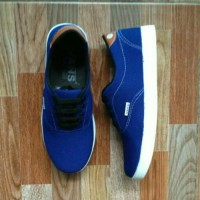 Sepatu sport New Vans clasic blue limited edition V5