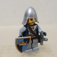 LEGO Minifigure minifig Knight Army kingdom castle Crown knight 2